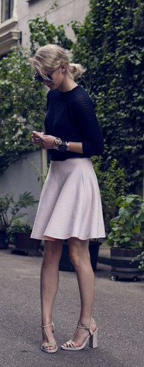 Pink Skirts Summer Outfit To Try #summeroutfits #Pink