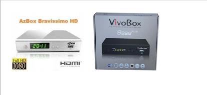 AZBOX BRAVISSIMO EM VIVOBOX S926 PLUS NOVA ATUALIZAÇÃO V1.3.9 - 22/07/2016