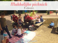 Makkelijke picknick - 8 ideeen