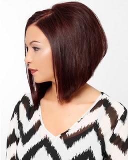 Gaya Rambut Untuk Wajah Bulat: Absolutely A Line