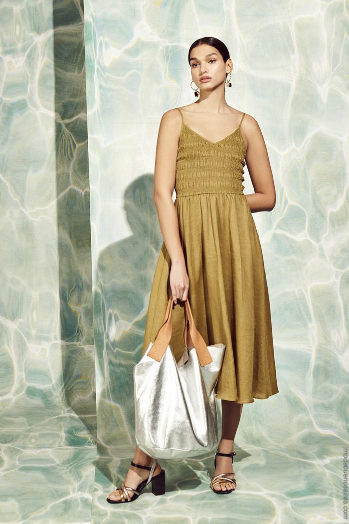Vestidos primavera verano 2020 moda mujer. Moda 2020 mujer.