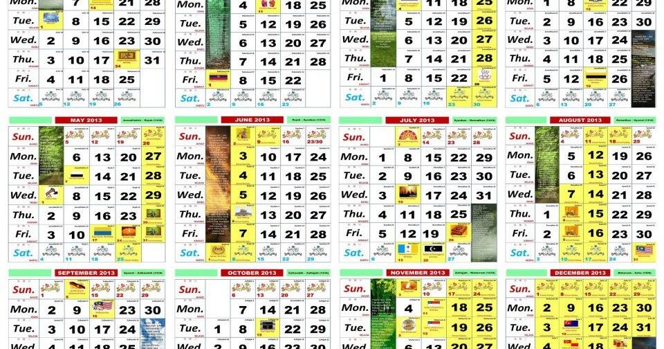 Calendar Kuda Sia : Kalendar malaysia pdf kalentri