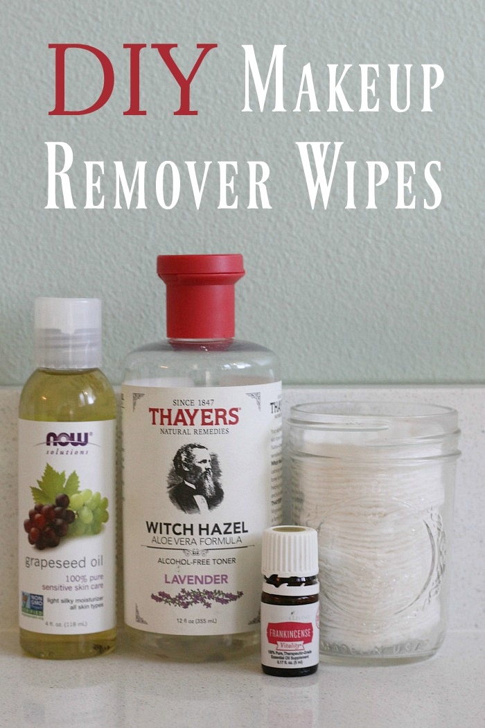 It's easy to make your own makeup remover wipes that don't contain harsh chemicals