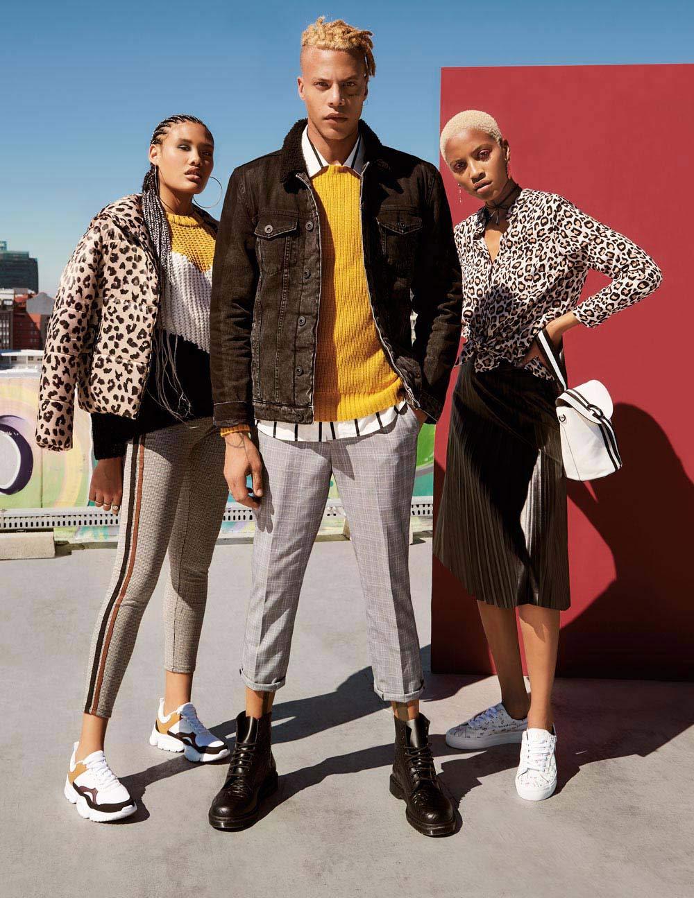 3d3ce28a6b43 LISA: Free 2BU leopard-print puffer jacket 499.95 SHOP NOW; Free 2BU  multi-coloured chunky knit 349.95 SHOP NOW; Free 2BU side-stripe leggings  299.95 SHOP ...