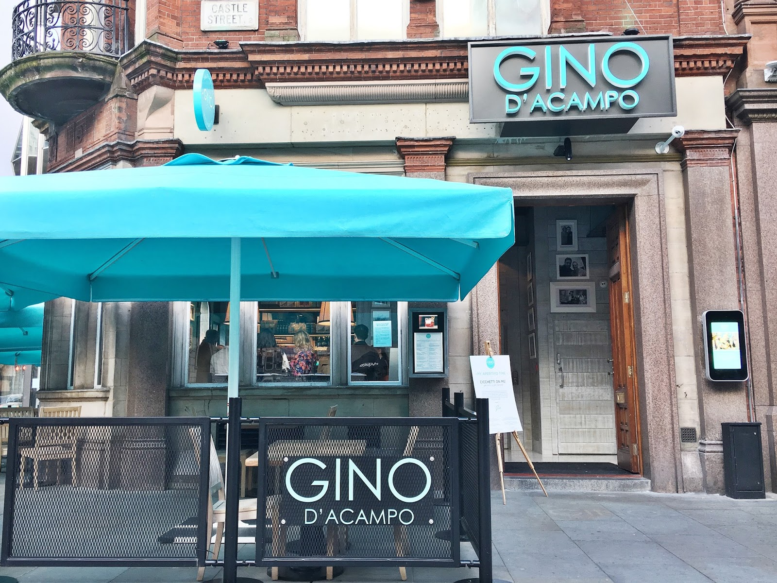 Gino's My Restaurant Liverpool Castle Street