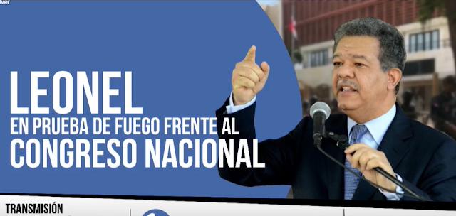 Video Leonel Fernandez Frente al Congreso
