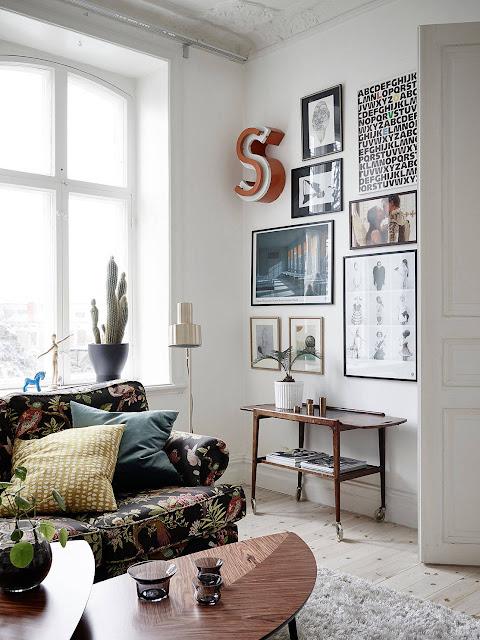 galeria plakatów, skandynawski styl