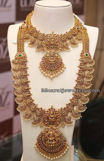 Antique Lakshmi  Mango Mala by TBZ