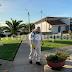 Pelluhue realiza sanitización de sus espacios públicos