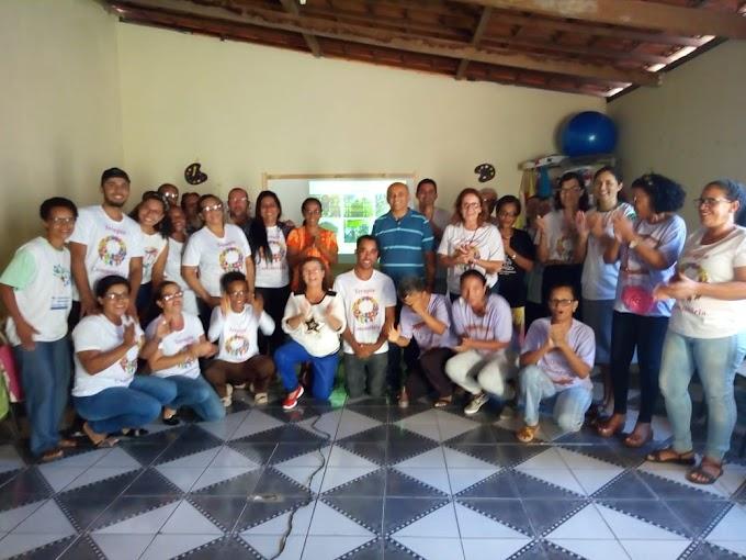 Dialogando com a turma da Terapia Comunitária da cidade de Governador Mangabeira