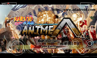 Naruto Shippuden Ultimate Ninja Impact Mod All Star Anime CSO PSP Android Download Naruto NSUNI Mod All Star Anime CSO PSP Android