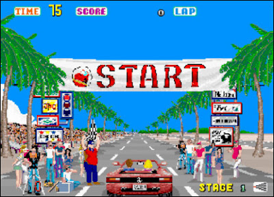 Out Run arcade download free game portable