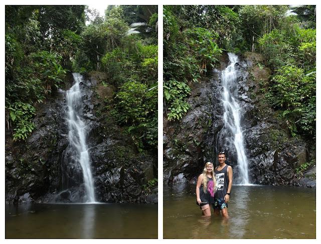 The Durian Perangin waterfall in Langkawi.