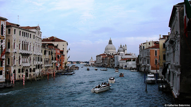 Grand Canal and Dome of Santa Maria della Salute