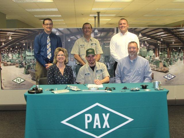 Tri Star CBI Student signs with Pax Machine, Inc.