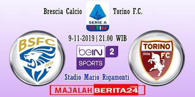 Prediksi Brescia vs Torino — 9 November 2019
