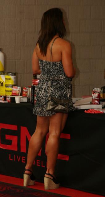 Her Calves Muscle Legs: HUGE muscular CALVES