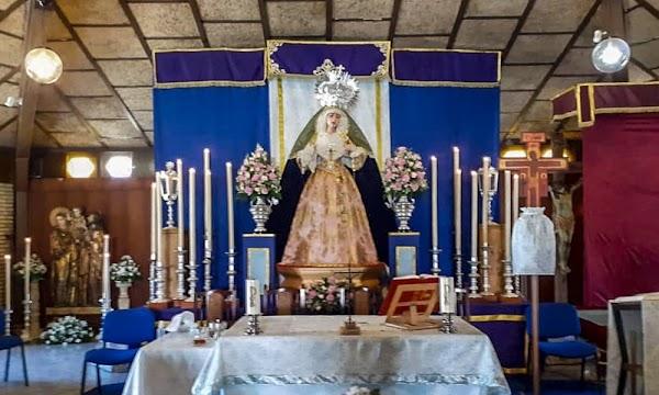 María Santísima de la Trinidad ya recibe culto en la Parroquia de la Sagrada Familia de Málaga