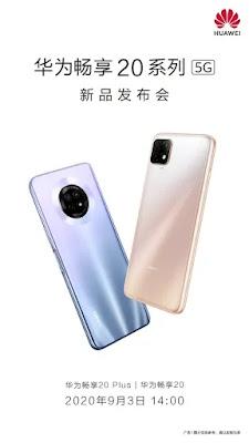 Huawei Enjoy 20, acara peluncuran Enjoy 20 Plus yang akan diadakan pada tanggal 3 September