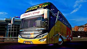 Download Livery Bus Po. Haryanto SR2 HD Terbaru 2019 BussID