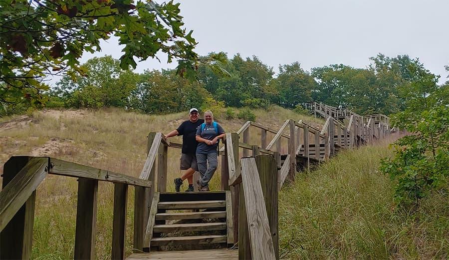 Indiana Dunes Boardwalk