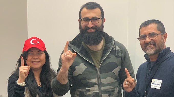 NON-Muslim couple converted to Islam by the play 'Ertugurl'