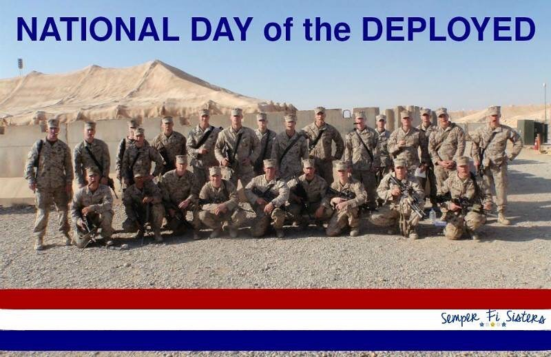 National Day of the Deployed Wishes for Instagram