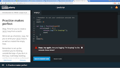 best JavaScript Course in CodeCademy