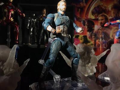 S.H.Figuarts Captain America de Avengers Infinity War