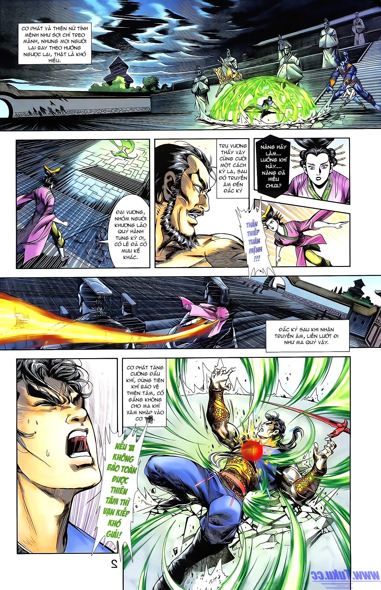 Cơ Phát Khai Chu Bản chapter 161 trang 13