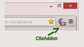 ClixAddon - nowy dodatek do przeglądarek dla użytkowników ClixSense, opinie, zarabianie przez Internet