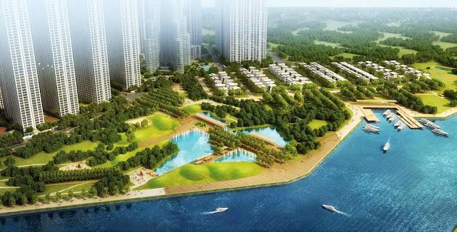 The Villas Vinhomes Central Park - Biệt thự dành cho giới siêu giàu