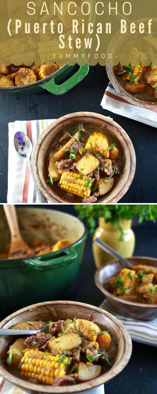 Sancocho (Puerto Rican Meat Stew)