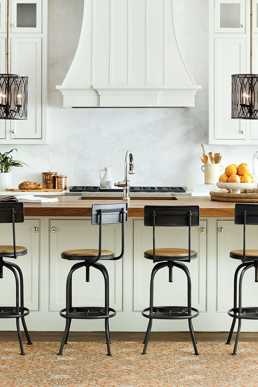 Merveilleux If Your Stools Will Be Used Where Food Is Served, Consider A  Low Maintenance Material Such As Metal, Wood Or Leather.