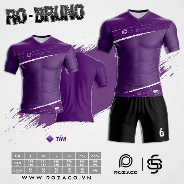 Áo Không Logo Rozaco RO-BRUNO Màu Tím