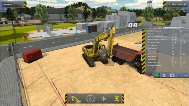 Construction Simulator 2012 PC Games Gameplay