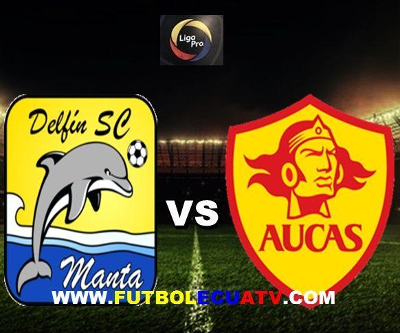 Delfín vs Aucas se miden en vivo desde las 20:00 horario local a efectuarse en el estadio Jocay de Manta por la jornada quince del campeonato ecuatoriano, siendo el árbitro principal Guillermo Guerrero con transmisión de los canales oficiales GolTV, DirecTV Sports y CNT.