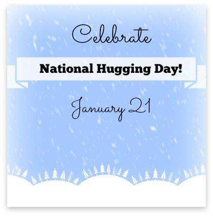 National Hugging Day Wishes Beautiful Image