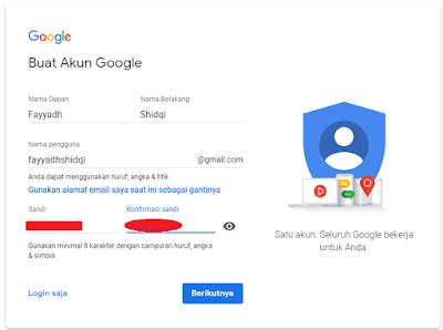 Alhamdulillah penulis sanggup menuntaskan Cara mendaftar Email Google  A Procedure text: How to sign up Gmail (Google Mail)