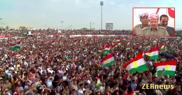 Îran Iraq Suriye Turkiye Duştê Referandumî Kurdistan