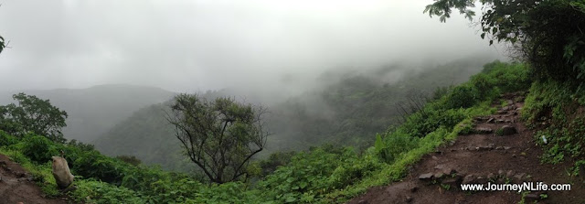 Sinhagad Fort - A Morning Monsoon Trekking