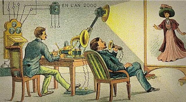 جهاز خاص بالتواصل بالصوت والصورة