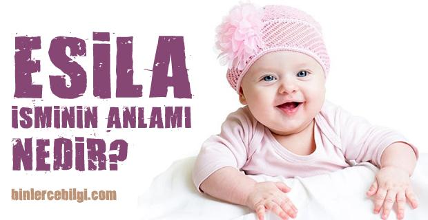 Esila ne demek? Esila isminin anlamı nedir? Esila adı kuranda geçiyor mu? Esila ismi hakkında kısa bilgiler. Esila isminin anlamı hakkında merak edilenler..