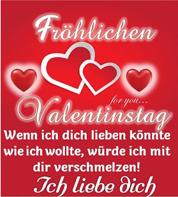 Fröhlichen Valentinstag Karte für Liebling