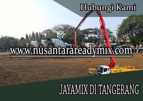 Daftar Harga Cor Beton Jayamix Tangerang
