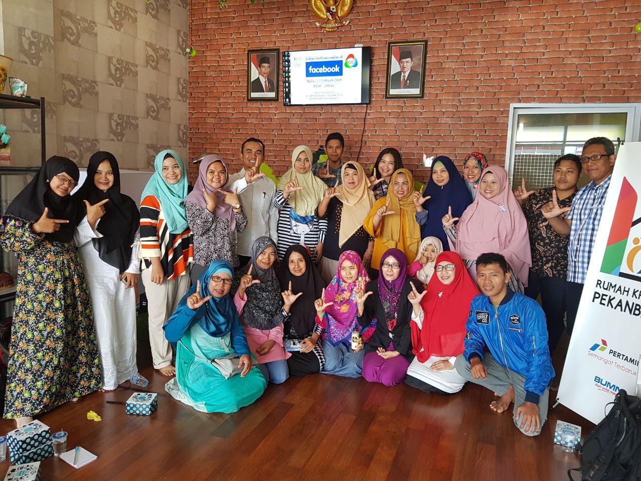 Kedai Ukm Produk Bumn Batik Full Tulis Katun Primiss Pacu Kinerja Umkm Rkb Pertamina Pekanbaru Gelar Pelatihan E Commerce