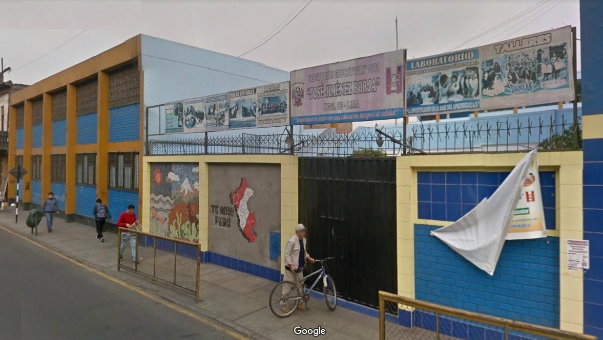 Escuela 1001 JOSE JIMENEZ BORJA - Lima Cercado