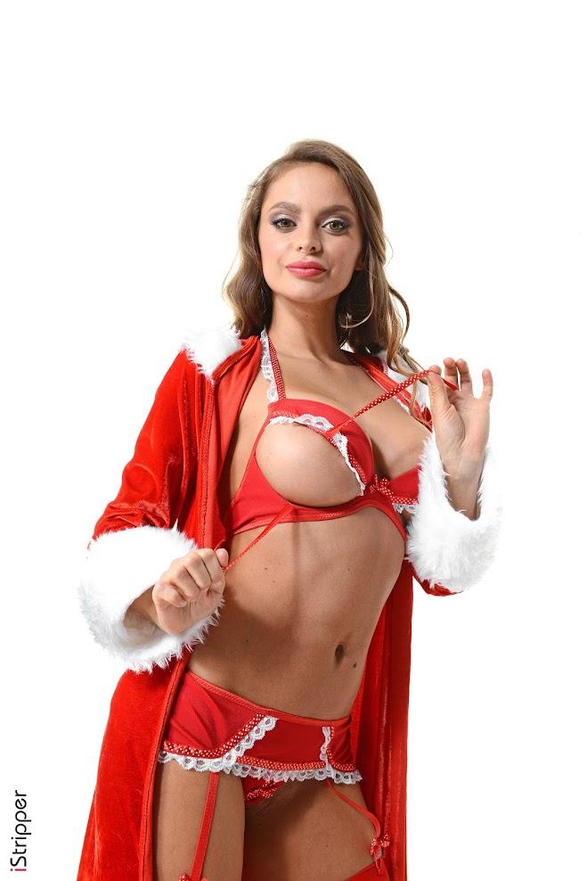 [iStripper] Angie Line - Santa's Favorite Girl - idols
