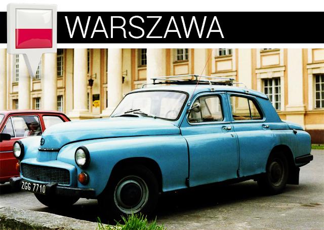 Warszawa samochód