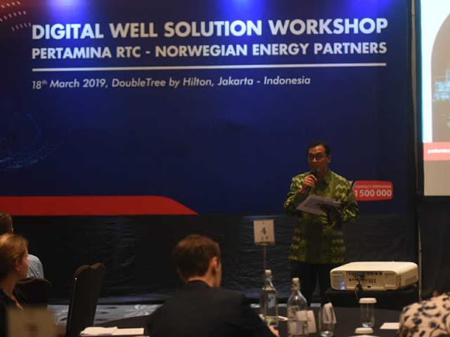 Digital Well Solution Workshop untuk Efisiensi dan Efektivitas Drilling Pertamina